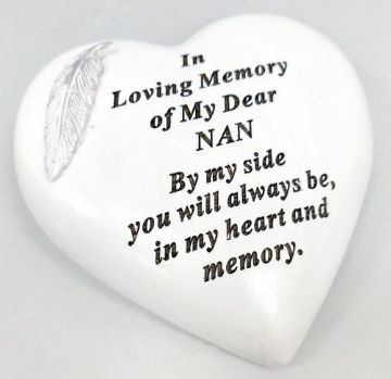 Large 15cm In Loving Memory of My DEAR NAN Grave Stone  DF17973C